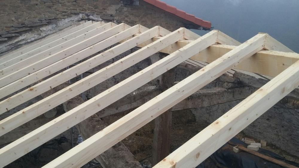 estructuras de madera tejados vitoria